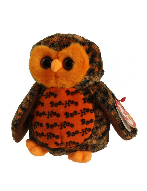 TY Beanie Baby - BOO WHO? the Owl (Hallmark Gold Crown Exclusive) (6 inch)