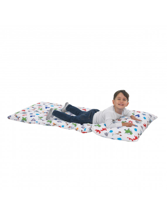 Disney Toy Story 4 - Blue, Green, Red and White Deluxe Easy Fold Toddler Nap Mat