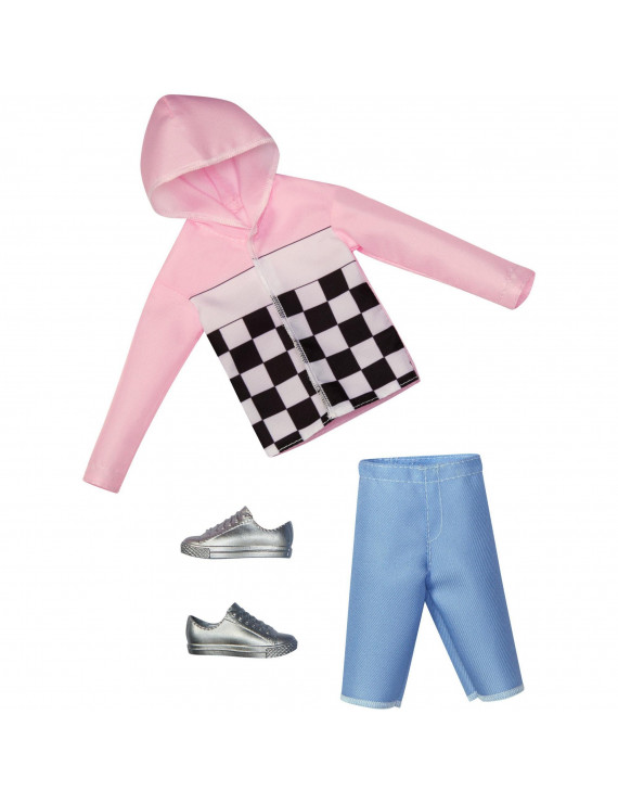 Barbie Ken Fashion, Original Body Type, Checkered Top Outfit