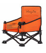 Dream On Me Sit 'N Play Portable Booster Seat in Orange