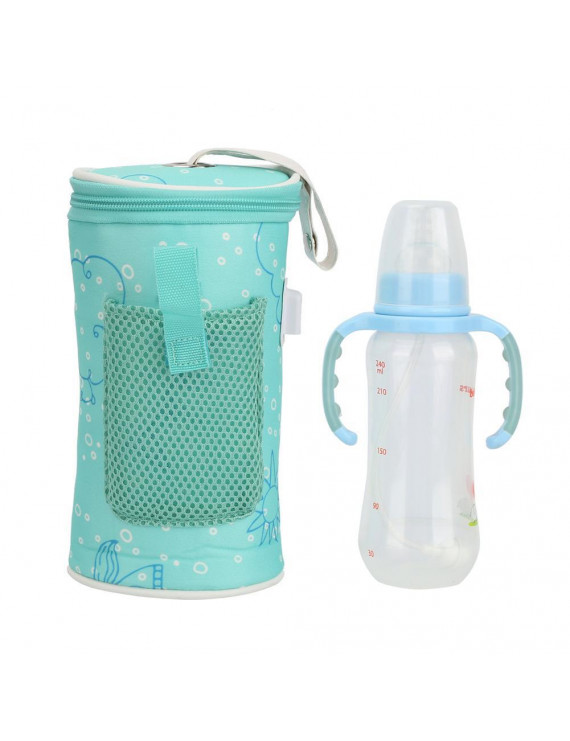 FAGINEY USB Baby Bottle Warmer Heater Insulated Bag Travel Cup Portable In Car Heaters ,Insulated Bag ,USB Baby Bottle Warmer