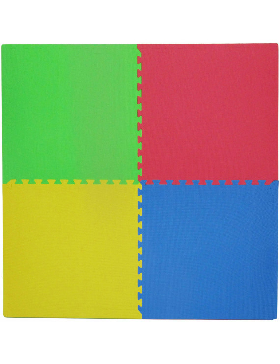 "Tadpoles 24"" Playmat Set, 4pc, Multi/Primary"