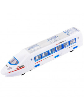 Beautiful Lightning Electric Train Toy For Kids With Music Changes Directions