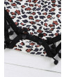Newborn Baby Girl Summer Clothes Leopard Romper Jumpsuit Playsuit Outfits Set