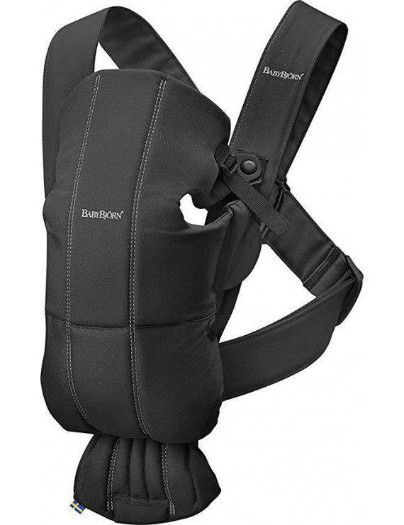 Baby Carrier Mini - Cotton - Black