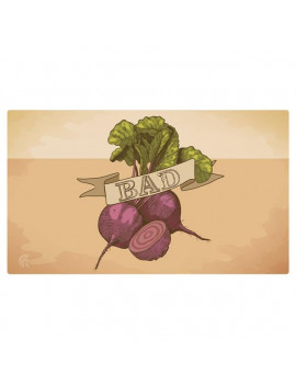 14 x 24 in. Bad Beets Playmat