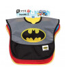 Bumkins Batman SuperBib Baby Bib Waterproof, Washable, Stain and Odor Resistant, ages 6-24 months, 3-pack