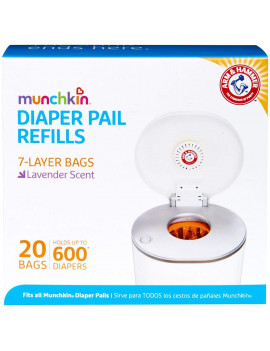 40ct, Munchkin Diaper refill Bags  Total of 40 count