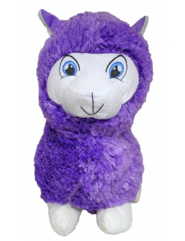 "#PlushPals 16"" Llama Alpaca Stuffed Animal Plush Toy Soft & Fluffy - Purple"