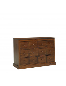 Fisher-Price Signature 6 Drawer Double Dresser, Rustic Brown