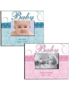 Personalized Baby Pink Frame