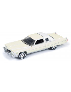 Auto World Diecast Yellow Cadillac