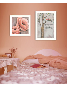 """""""Ones You Love"""" 2-Piece Vignette by Kenda Runnels, White Frame"""