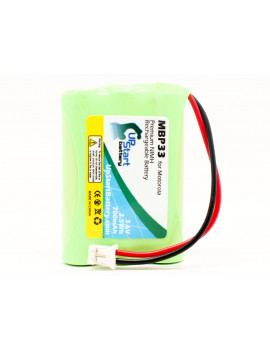2x Pack - Motorola MBP33 Battery - Replacement for Motorola MBP33, MBP36 Baby Monitor Battery (700mAh, 3.6V, NI-MH)