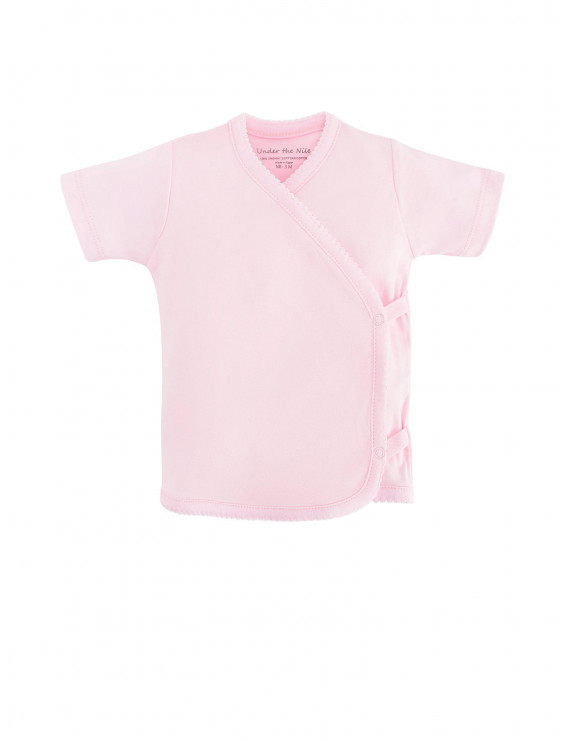 Baby Organic Cotton Side-Snap T-Shirt