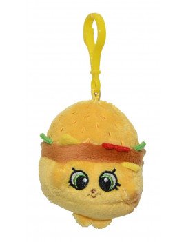 Shopkins Clip On Plush Cheezey B