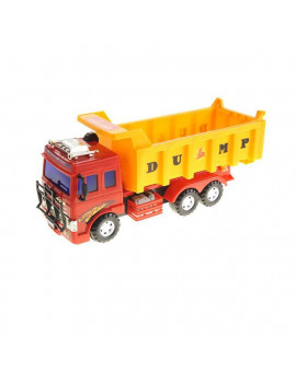 Big Dump Truck Toy for Kids with Friction Power Heavy Duty