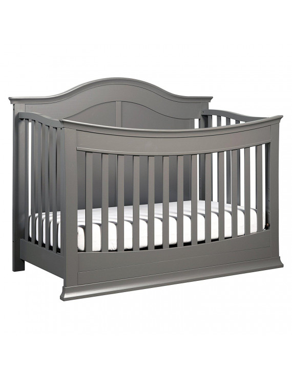 DaVinci Meadow 4-in-1 Convertible Crib With Toddler Bed Conversion Kit