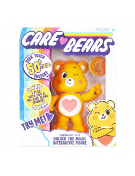 NEW 2020 Care Bears - Interactive Figure - Tenderheart Bear - Your Touch Unlocks 50+ Reactions & Surprises!