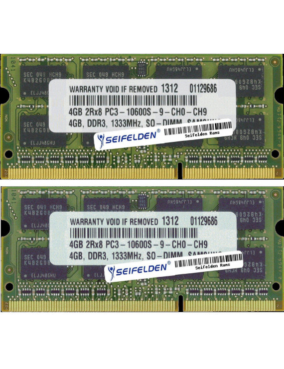Seifelden 8GB (2X4GB) Memory RAM for HP Pavilion 17-e033ca Laptop Memory Upgrade