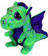 Ty Inc Beanie Boo Plush Stuffed Animal Medium Cinder the Green Dragon 10""