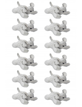 "Wildlife Tree 12 Pk Elephant 4"" Small Stuffed Animals Bulk Safari Party Favors"