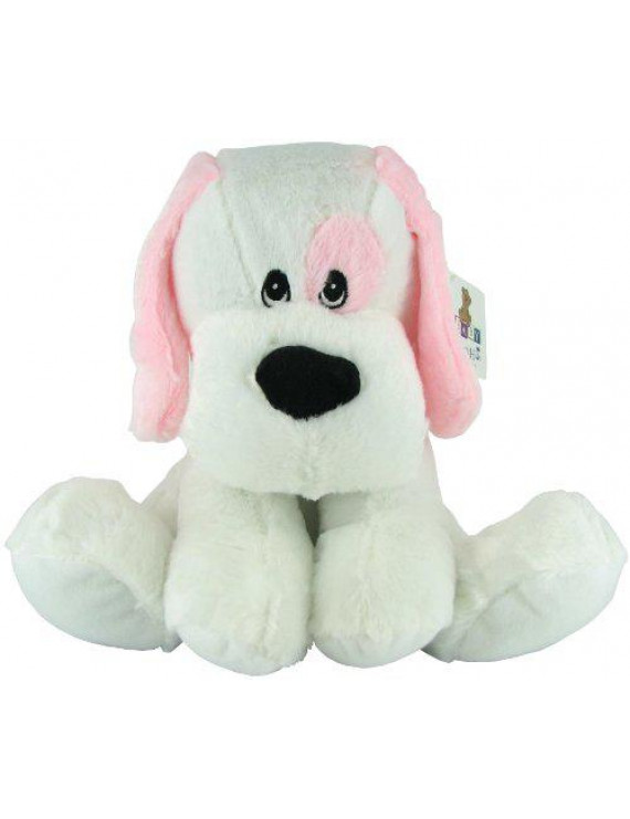 Plush Rattle Blue Dog by Beverly Hills Teddy Bear Co.