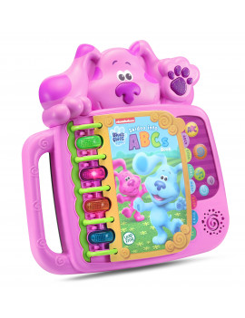 LeapFrog Blues Clues and You! Skidoo Into ABCs Book for Kids, Magenta