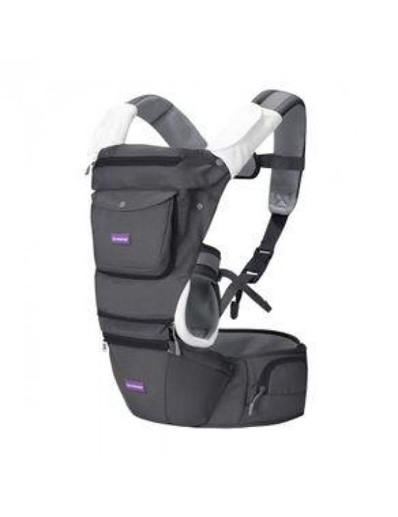 Clevamama Ergonomic Baby & Hip Carrier, Black