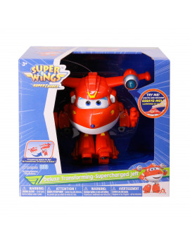 Auldey Toys - Deluxe Transforming Supercharged Jett