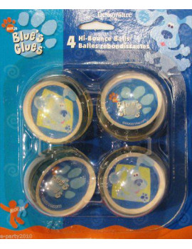 Blue's Clues Bounce Balls / Favors (4ct)