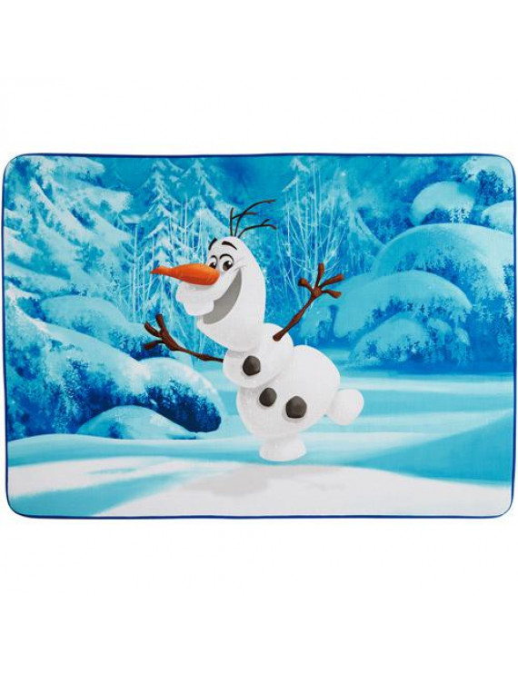 """Frozen Olaf 'Let's Ride' Heat Transfer Accent Rug, 3'4"""" x 4'8"""""""