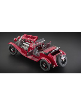 1930 Alfa Romeo 6C 1750 Grand Sport Red 1/18 Diecast Model Car by CMC