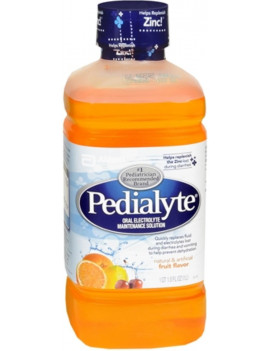 4 Pack - Pedialyte Oral Electrolyte Maintenance Solution Fruit 33.80 oz