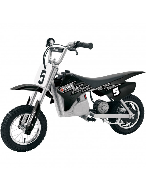 Razor MX350 24V Dirt Rocket Electric Ride on Motocross Bike- Black
