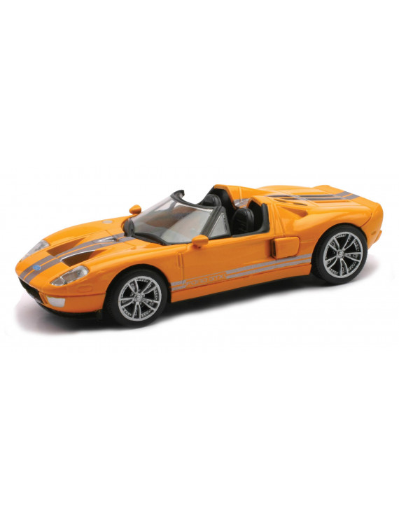 Die-Cast Orange Ford GTX1 1:43 Scale
