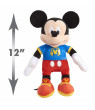 Disney Junior Mickey Mouse Singing Fun Mickey Mouse, 12-inch plush, Ages 3+