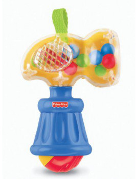 Fisher-Price Brilliant Basics Hammering Rattle (Discontinued by Manufacturer)
