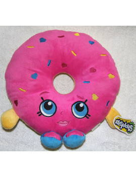 "plush - shopkins - d'lish donut 10.5"" soft doll toys new 149976"