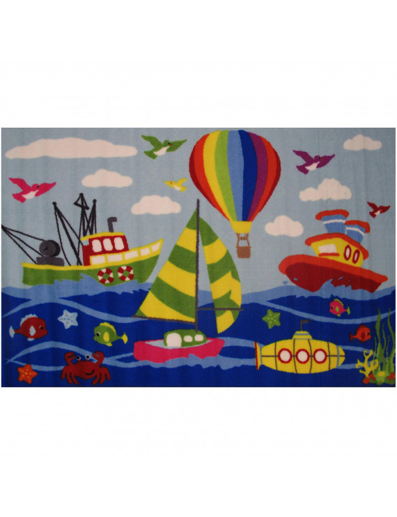 "Fun Rugs Fun Time Marina Kids Rugs 19"" x 29"" Rug"