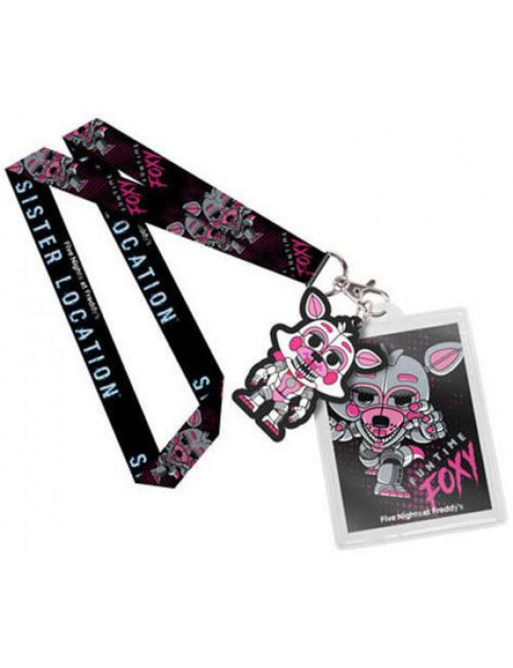 FUNKO LANYARD: Five Nights at Freddy's Sister Location - Funtime Foxy