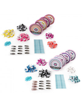 - KumiColors Fantasy & Neons Fashion Pack, Makes Up to 24 Bracelets with the KumiKreator, for Ages 8 and Up, Spin to create: the Cool Maker kumikreator is a.., By Cool Maker