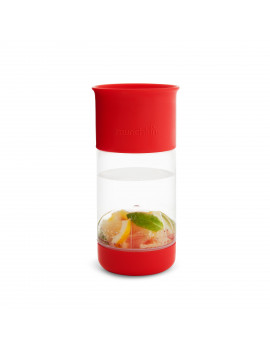 Miracle 360 Fruit Infuser 14 Oz. Red Sippy Cup