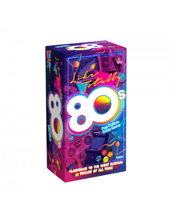 Like Totally 80's Pop Culture Trivia Game