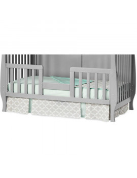 Child Craft Toddler Guardrail for Camden Convertible Crib, Cool Gray