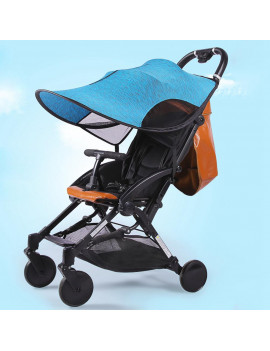 Ccdes Stroller Awning,Baby Stroller Universal Sun Shade Awning Anti-UV Umbrella Canopy , Stroller Canopy