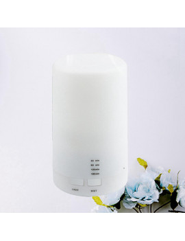 125ml USB Ultrasonic Aroma Humidifier Mini Humidifier Essential Oil Aromatherapy Machine for Car Home Yoga Office Spa Bedroom Baby Room