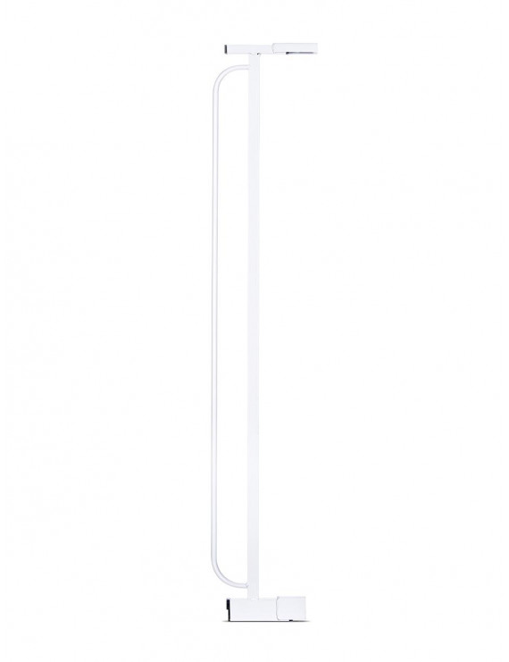 """Regalo Extra Tall 4"""" Gate Extension, Silver"""