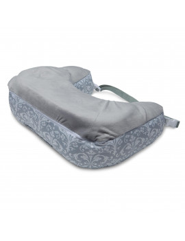 Boppy Best Latch Breastfeeding Pillow, Kensington Gray