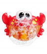 Crab Bubble Machine Baby Bathroom Bath Water Playing Toy Music Electric Bubble Machine
